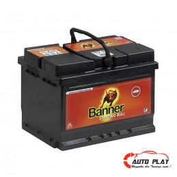 Akumulator BANNER 56219 62Ah/480A P