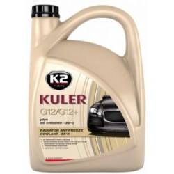 K2 KULER -35°C CZERWONY 5 L Gotowy płyn do chłodnic