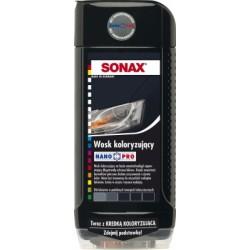 Wosk Koloryzujący Czarny + Kredka Koloryzująca - Sonax - Nanopro - 296 100 - 500 Ml